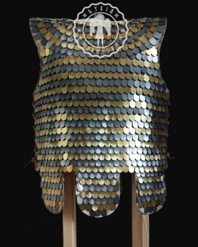 Scale armor brass/steel