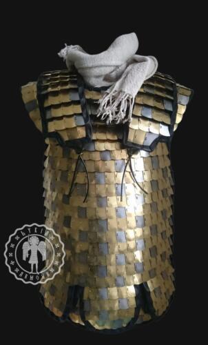 Roman scale armor, brass & steel scales