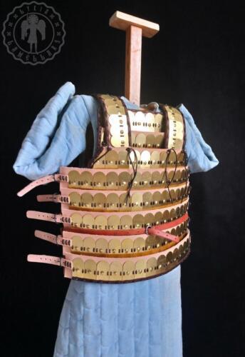 Brass armour, Kievan Rus plates