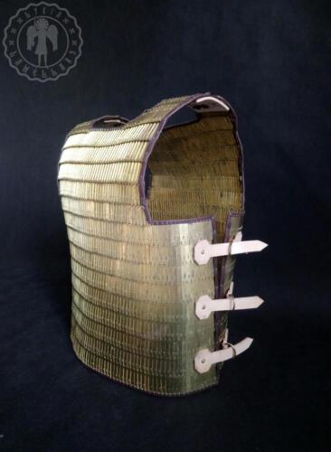 Roman brass scale armor from Carnuntum
